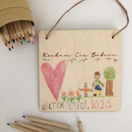 Wooden plaque - Grandparent's day
