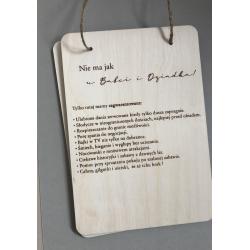 Wooden plaque for Grandparents.