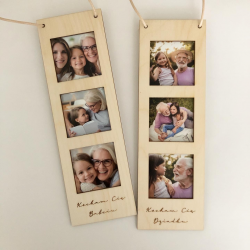 Ramka na zdjęcia mini kwadraty Dzień Babci i Dziadka