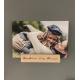 Wooden photo / postcard holder / stand