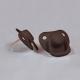 Filibabba  smoczki 2 szt. 0m+ Chocolate