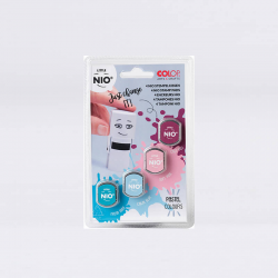 COLOP NIO stamps - pastel colors.