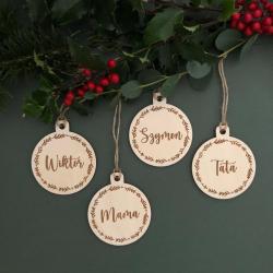 Christmas gift tag.