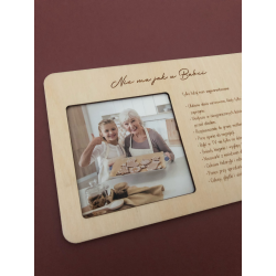 Photo frame for Grandparents.