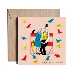 Greeting card COOL GRANDPARENTS