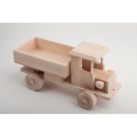 Drewniana ciężarówka