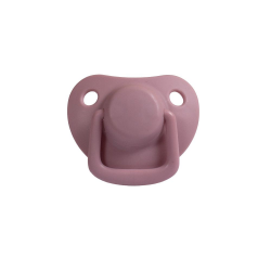 2-pack pacifiers, dusty rose  0 m+