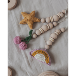 Wooden toy for baby gym - tree.