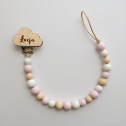 Personalized wooden dummy chain