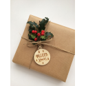 """Gift tags """"Merry X mas"""""""