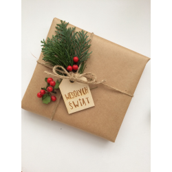"Gift tags ""Merry Christmas"""