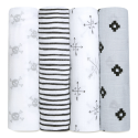 aden+anais lovestruck classic swaddle set 4-pack