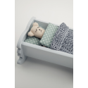 Miniature dollhouse cradle - Pattern 7.