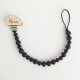 Personalized wooden dummy chain.