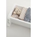 Miniature dollhouse cradle - Pattern 8.