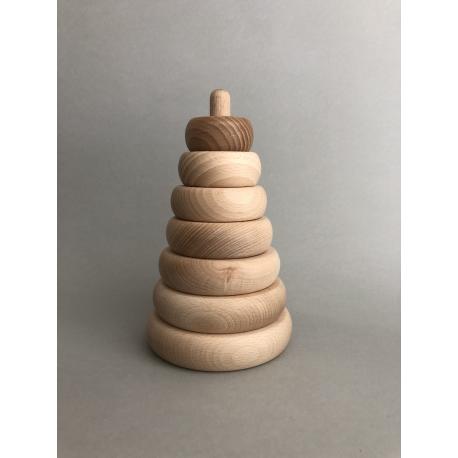 Drewniana piramidka