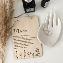 Wooden plaque - Mum.